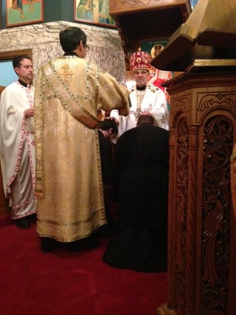 Bishop Thomas' Nativity Visit to St. George Cathedral + Pittsburgh PA