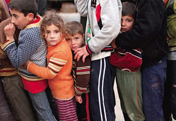 Syrian children, from the June 2013 issue of The Word Magazine
