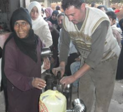 Distribution of Stoves in Homs