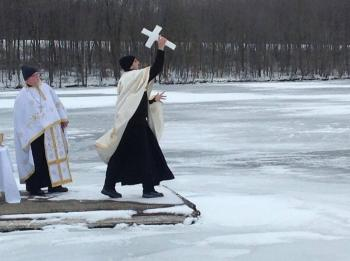 Blessing of the Waters, Moraine State Park, PA: 2014