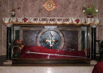 St. Thomas' tomb in Chennai, India