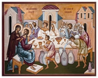 Christ at the Wedding Feast at Cana