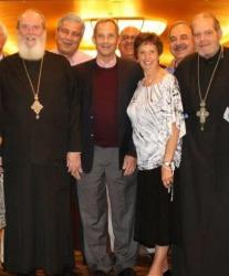 John Roman (3rd from left) at the 2015 Archdiocesan Convention