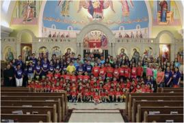 Summer Program Basilica of St. Mary, 2013