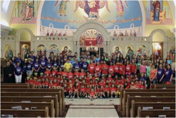 Summer Program Basilica of St. Mary, 2013