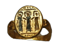 Byzantine wedding ring