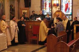 Vespers and Brian Cavalier ordination